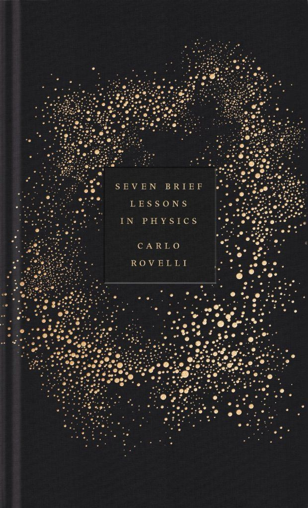 Beautiful book cover - lessons in physics