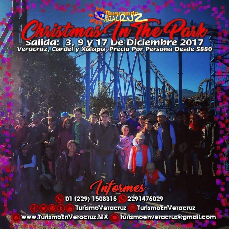 #Christmas In The Park De #SixFlags nos espera este 3, 9 y 17 de diciembre saliendo de #Veracruz #Cardel y #Xalapa ¡ Reserva Tu Lugar YA ! Más información en: Tels: 01 (229) 150 83 16  WhatsApp: 2291476029 Email: turismoenveracruz@gmail.com http://www.turismoenveracruz.mx/2017/09/excursion-a-sixflags-christmas-in-the-park-este-3-10-y-17-de-diciembre-2017/