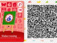 "Les qr codes Thème ""amiibo festival"" : Amiibo Festival Pattern Set #7"