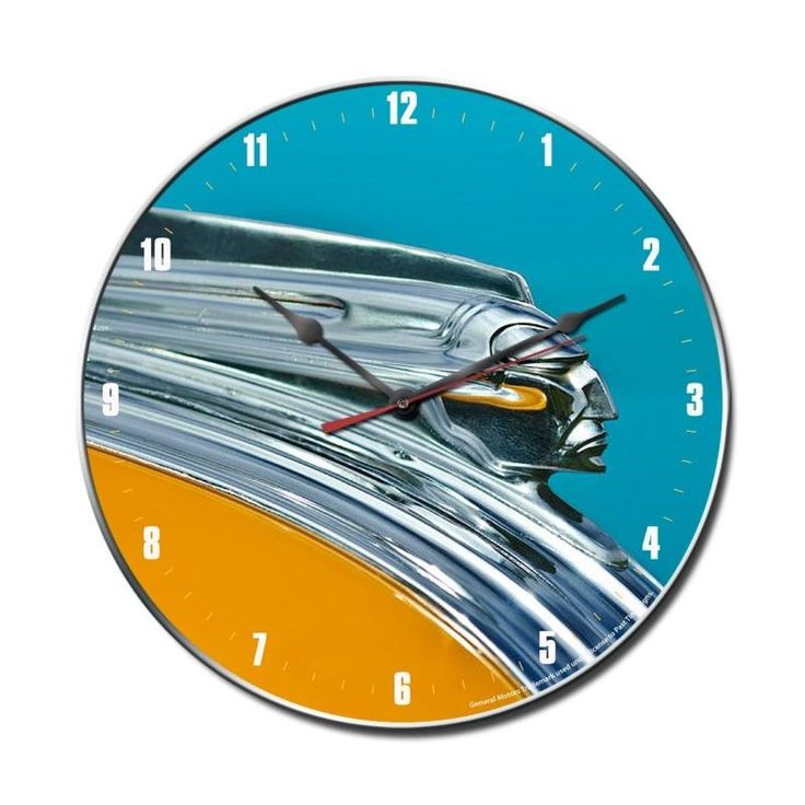 Pontiac Indian Clock