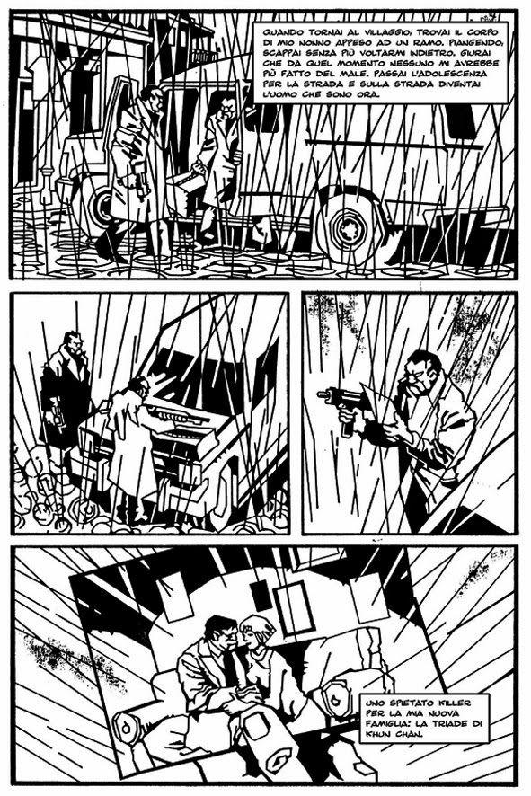 """http://fumettocrazia.blogspot.it/  Presto sulle pagine di Fumettocrazia """"Dragon Killer"""", il fumetto Noir scritto da Gino Udina e disegnato da Roberto Pace, in un bianco e nero spigoloso ed affascinante. Leggete e Condividete. Lo Staff di Fumettocrazia.   #GinoUdina #Fumetto #Fumettocrazia  #ComicBooks #Comics #ComicArt  #GraphicNovel #WebComics #DigitalComics #DragonKiller"""