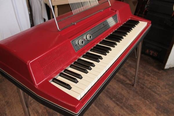 1969 Wurlitzer electric piano. So campy!