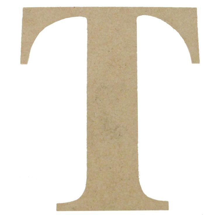 Boyle Large Craftwood Letter T