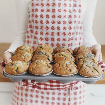 OP: This easy-to-make muffin recipe from Cathe Olson is subtly spicy in flavor and includes such ingredients as iron-rich blackstrap molasses and calcium-filled yogurt. Bananas, almonds, and oats add potassium, heart healthy fats, fiber, and protein. Perfect when paired with an 8 oz glass of low-fat milk.