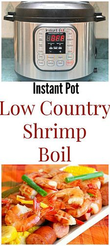 Instant Pot Low Country Shrimp Boil can be made in your very own kitchen...you don't need a trip to the South to enjoy it!