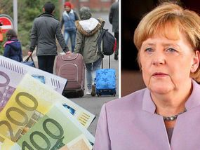 CHANCELLOR Angela Merkel is plotting to ban EU migrants from claiming benefits for five years - just a day after attacking Theresa May over similar plans.