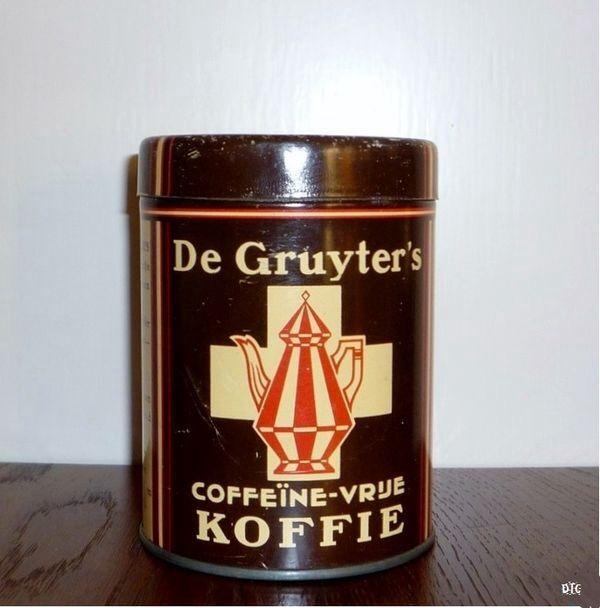 De Gruyters Koffie.