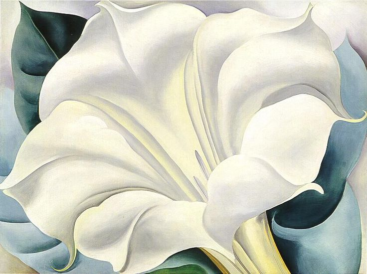 Georgia O'Keeffe - Still one of my favorite paintings ever