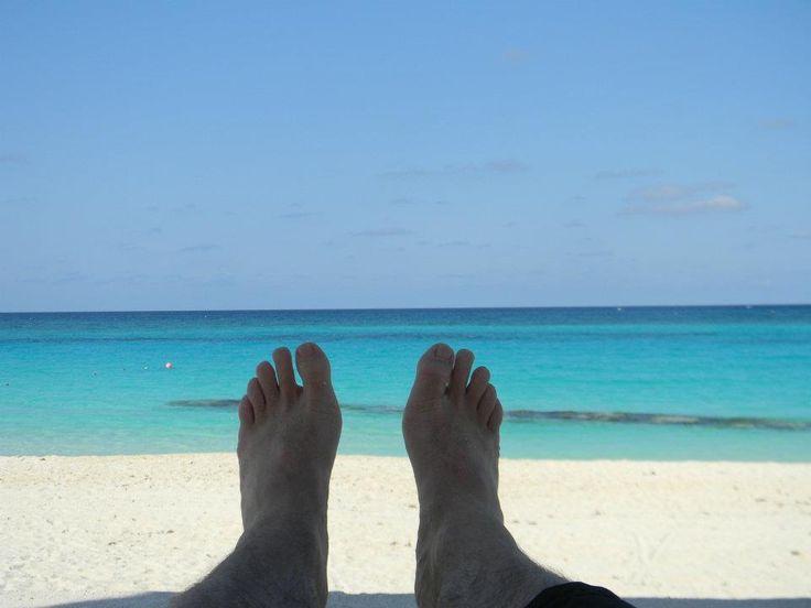 Hacer nada en la playa