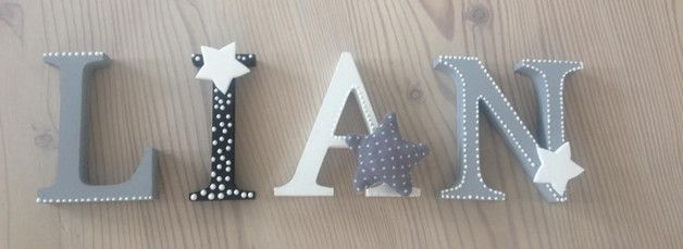 die besten 25 holzbuchstaben ideen auf pinterest super. Black Bedroom Furniture Sets. Home Design Ideas