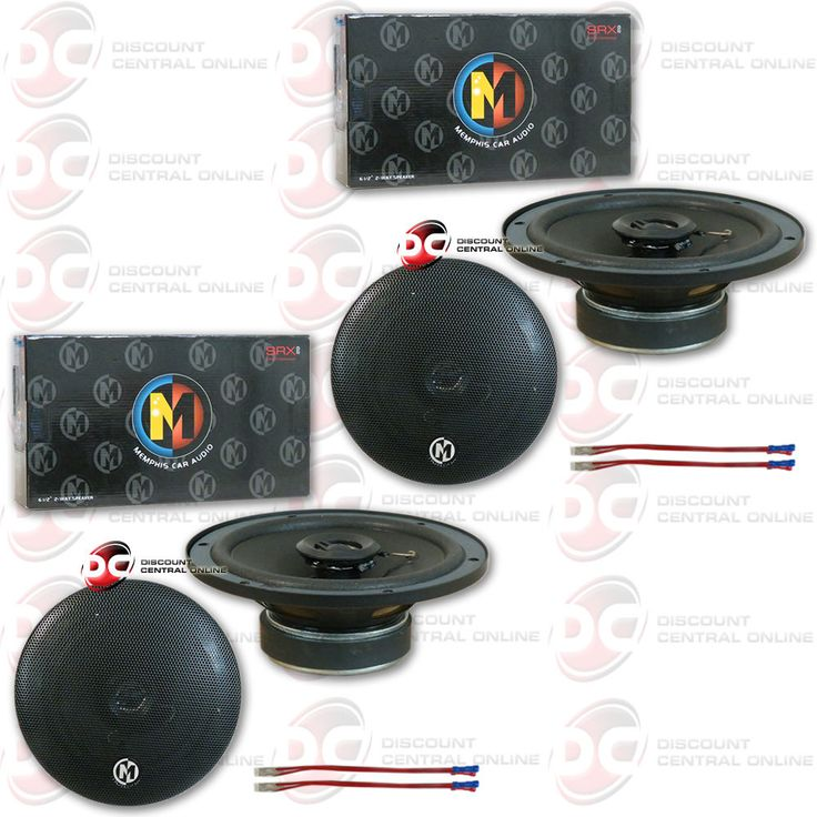 Car Speakers and Speaker Systems: 4 X Brand New Memphis 6.5 Inch 2-Way Car Audio Speakers 6.5 -> BUY IT NOW ONLY: $89.99 on eBay!