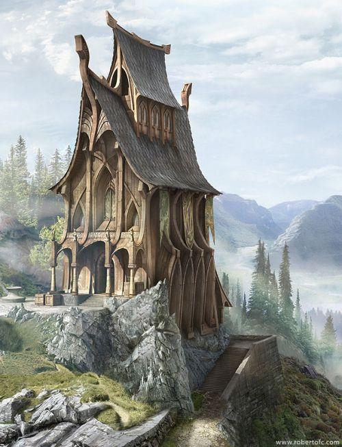 the castle: