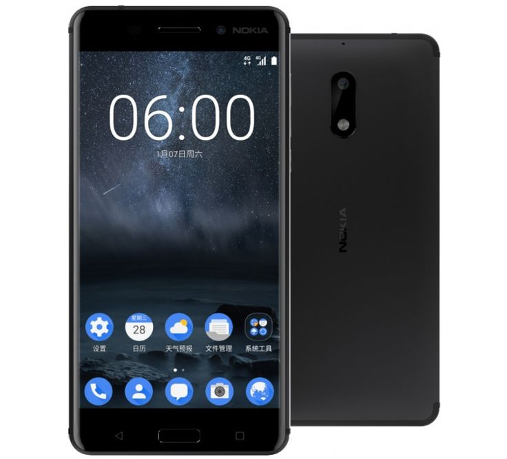 Nokia 6 Android Phone Now Official; To be Sold Only In China #Android #news #Google #Smartphones