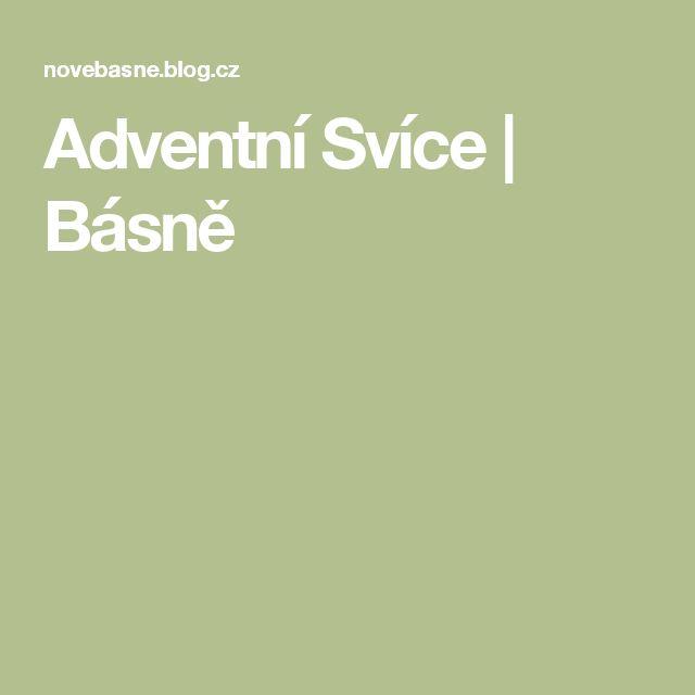 Adventní Svíce | Básně
