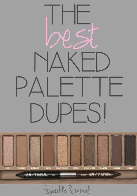 Copies de la Naked palette