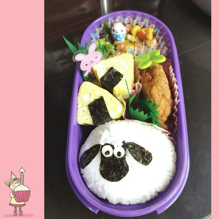 Shaun the sheep bento