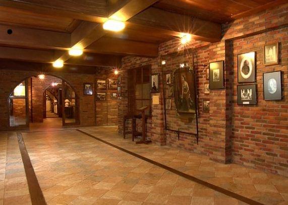 Bagian zona kampung kambang - museum ullen sentalu, yogyakarta