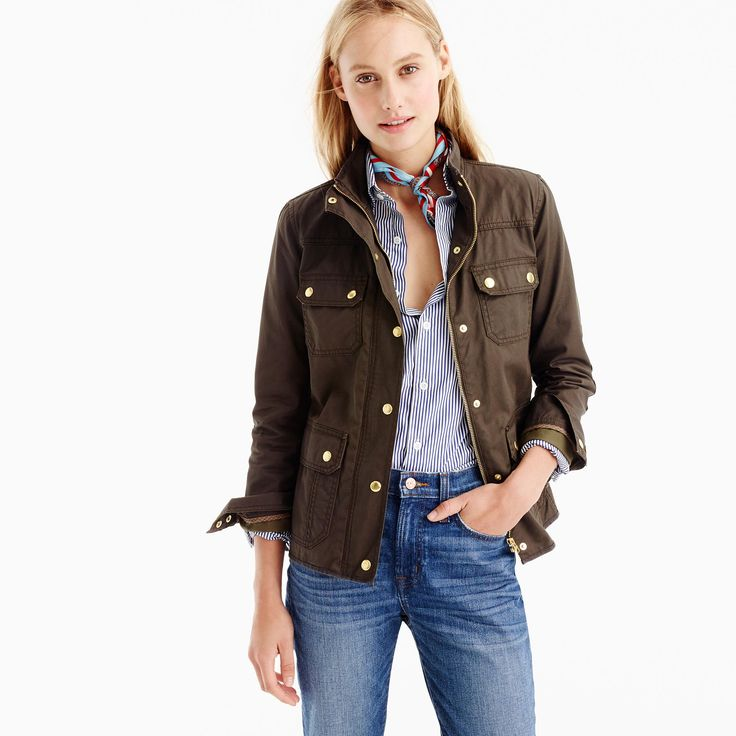 11 Fabulous Field Jackets You Won't Want to Take Off This Spring | Brit + Co