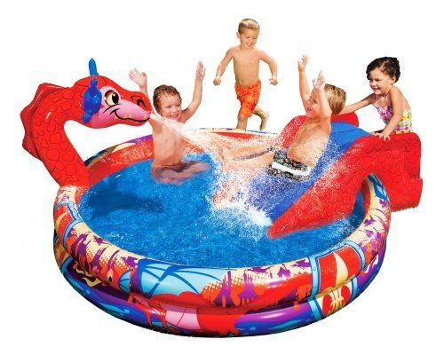 Banzai Inflatable Children's Pool Dragon Theme Paddle Pool with Slide 147x25cm by ZHG, http://www.amazon.co.uk/dp/B001NQIWXC/ref=cm_sw_r_pi_dp_ytvktb0FY0E1E