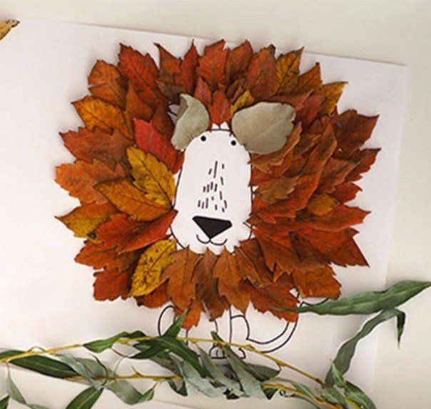 Crafts from leaves