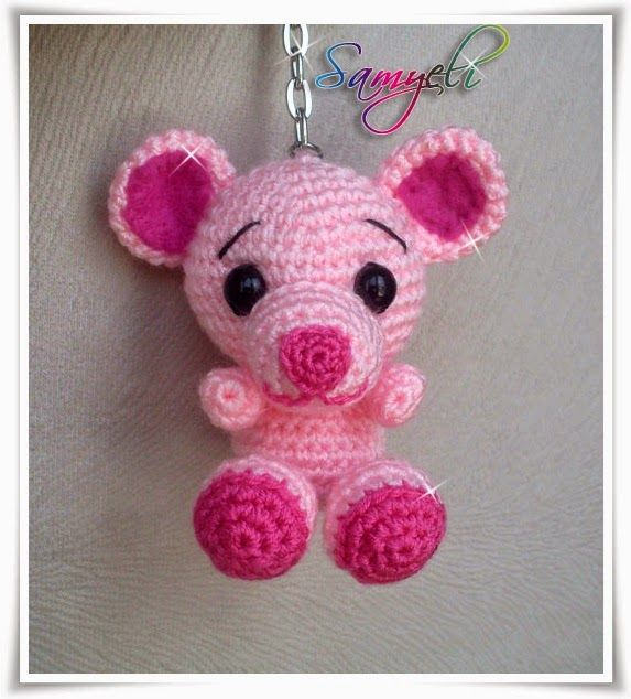 Free Crochet Cat Keychain Pattern : 59 best images about Free crochet amigurumi patterns on ...