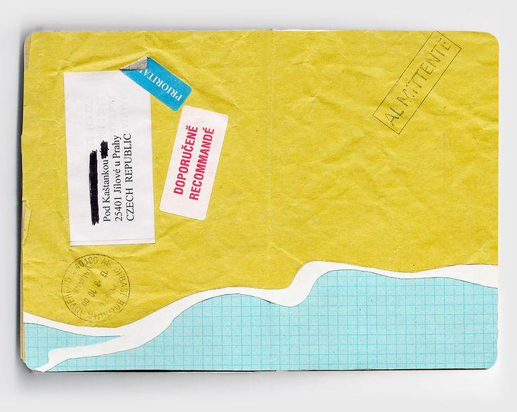 Holiday sketchbook 3 | Annalisa Bernabovi | Illustrator & graphic designer. #sketchbook, #drawing #illustrations collage, ink
