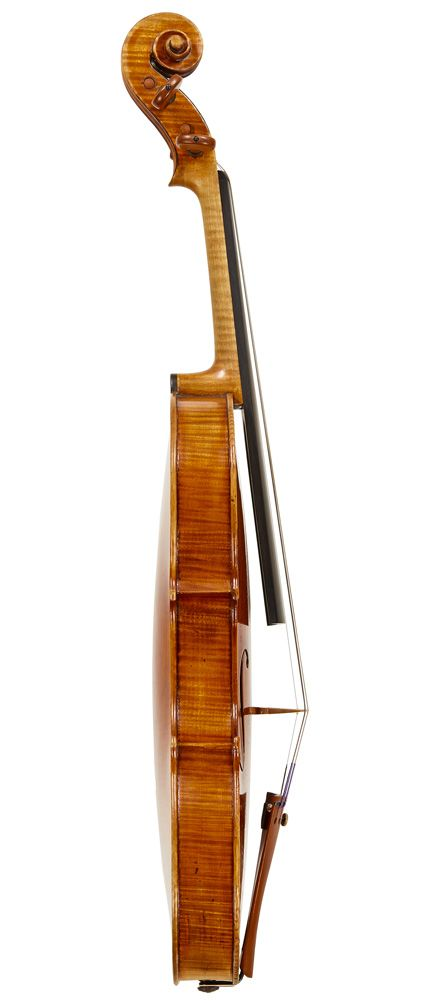 """A FINE ITALIAN VIOLIN BY GIOVANNI FRANCESCO PRESSENDA, TURIN, 1838 Labeled, """"Joannes Franciscus Pressenda q. Raphael fecit Taurini anno Domini 1838."""" LOB 35.4 cm"""