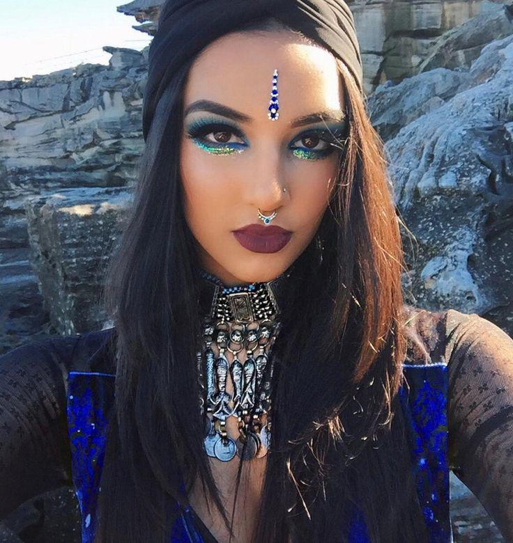 Best 25+ Gypsy makeup ideas on Pinterest | Fortune teller costume ...
