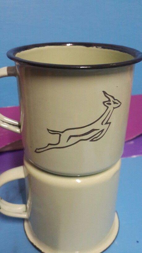 Springbok mug