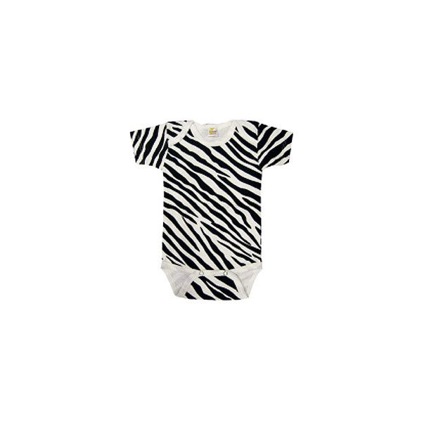 Zebra Print One Piece ($5.99) ❤ liked on Polyvore featuring baby, baby clothes, baby stuff, baby girl and kids