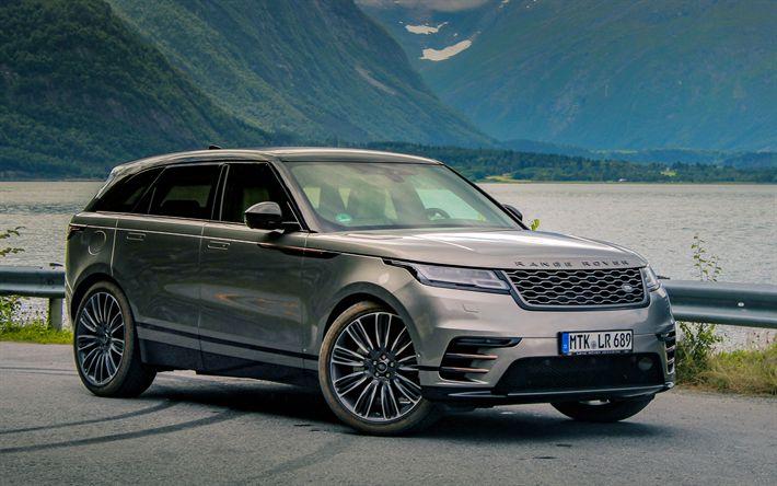 Indir duvar kağıdı 4k, Range Rover Velar, 2018 arabalar, lüks arabalar, SUV, Land Rover, Range Rover