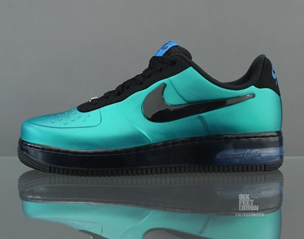 huge discount fc142 76b8d ... Nike Air Force 1 Foamposite Pro Low New Green Detailed Pictures ...