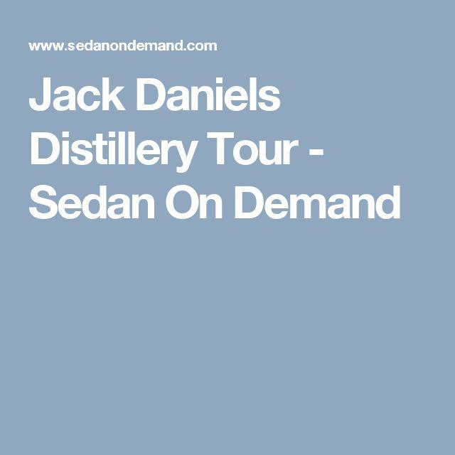 Jack Daniels Distillery Tour - Sedan On Demand