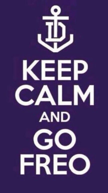 Freo to win!!