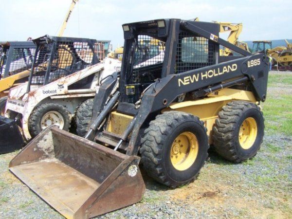 Maintenance , New Holland Lx985 specs Skid Steer Loader Parts Manual,This is specifically like the original manual made for these NEW HOLLAND VERSION LX985 SKID STEER LOADERS, schedule, General  Standard Parts, Service  Engine with Mounting and Equipment  Elec. System, Warning System Read more post: