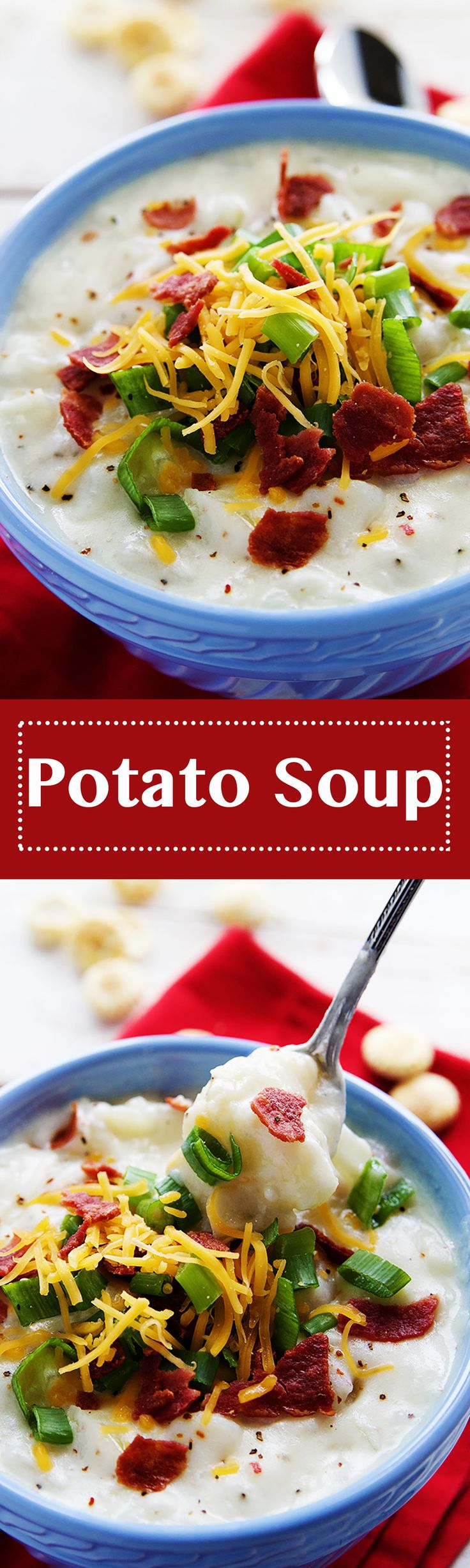 ... creamy and flavorful Potato Soup is just what you need to heat up the