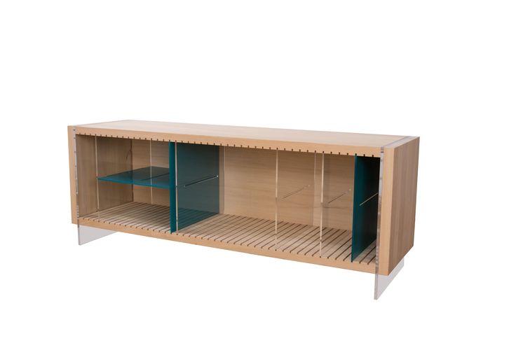 """""""Farbe"""" Sideboard made by AITO Designer: Alexandra Morosanu"""
