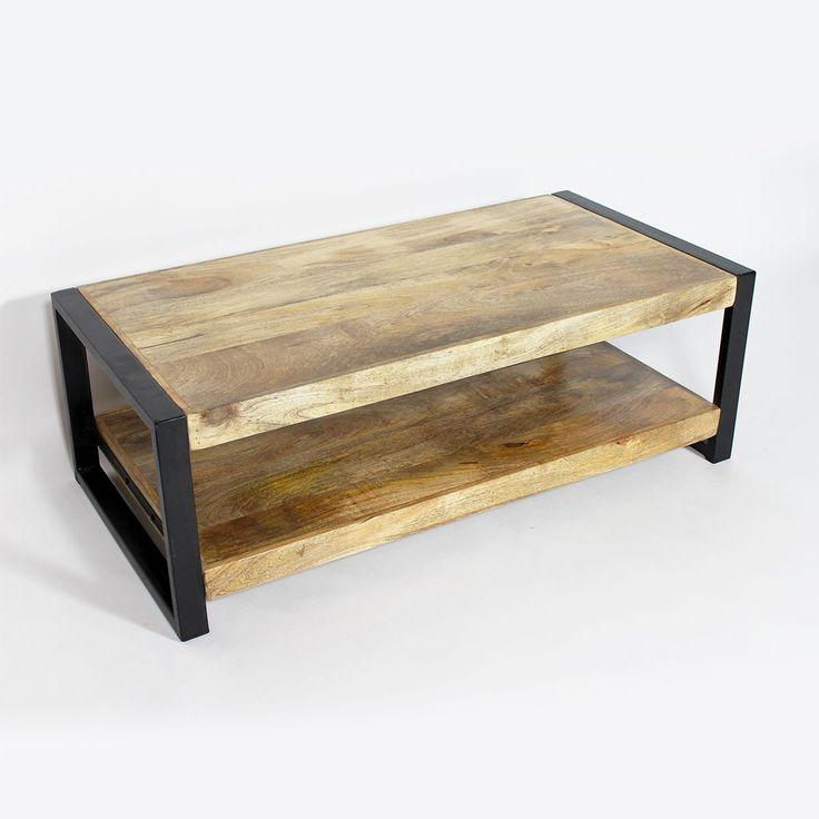 Table Basse Style Industriel Pas Cher
