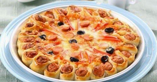 Daddy Cool!: Τετοια pizza den εχετε ξαναφαει!Συνταγη βημα βημα!