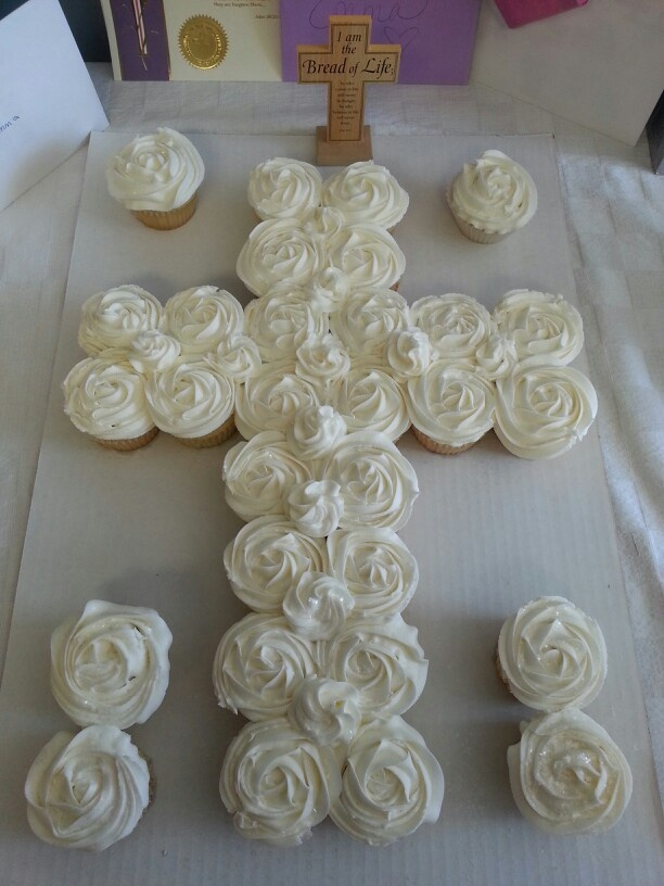 Cupcake Decorating Ideas For First Communion : Pin by Ana Chiodo on Party time Pinterest