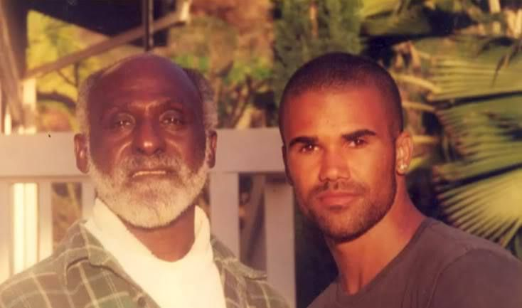 Shemar Moore and father