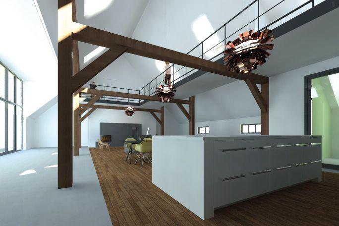 Verbouwing boerderij   Zwolle - AL architectuur