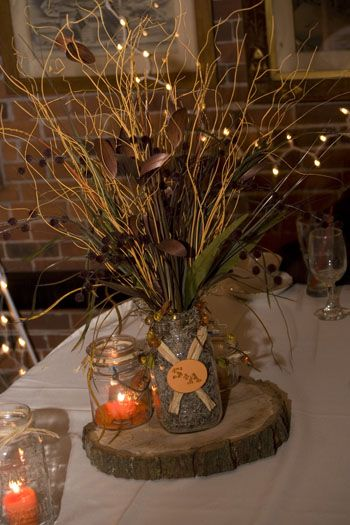What do you think about the small tree cutting to add to you centerpieces?