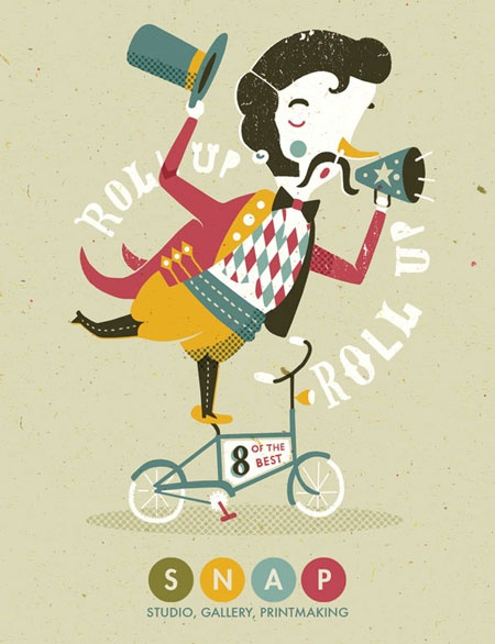 Tom Frost #illustration #typography #color
