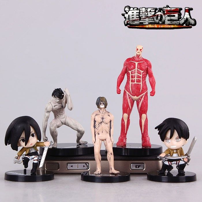 Attack on Titan Eren Jaeger Mikasa Ackerman PVC 5Pcs/lot Action Figure //Price: $16.00  ✔Free Shipping Worldwide   Tag your friends who would want this!   Insta :- @fandomexpressofficial  fb: fandomexpresscom  twitter : fandomexpress_  #shopping #fandomexpress #fandom