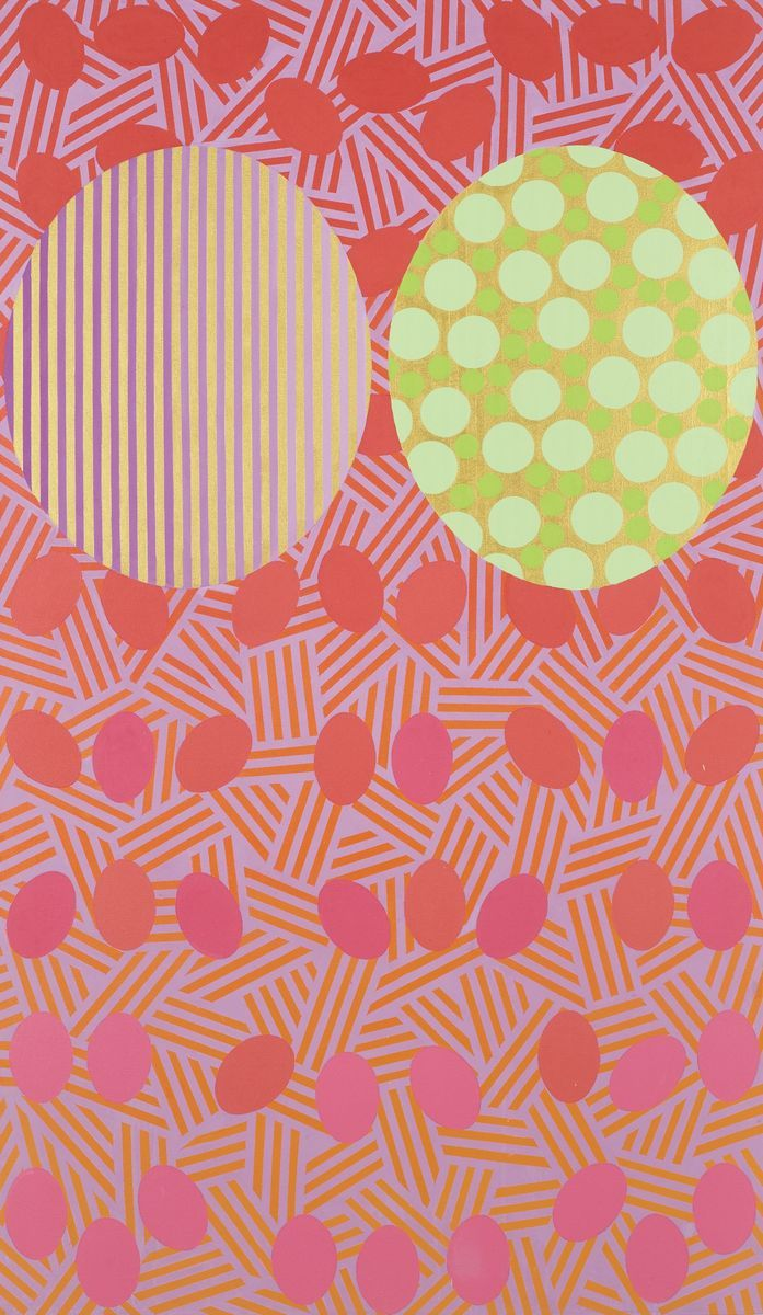Distance-Absence #6, 2015 by Mari Rantanen. Acrylic and pigment on canvas. 182x110 cm. Price 14 000€. Inquiries: sari.seitovirta@seitsemanvirtaa.com / GALERIE SEITSEMÄN VIRTAA