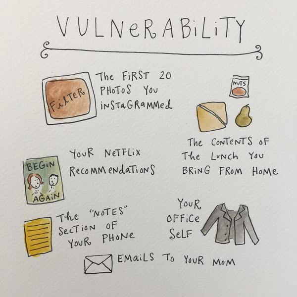 Mari Andrew zeichnet, was es bedeutet, Erwachsen zu werden - Fühlen - bento