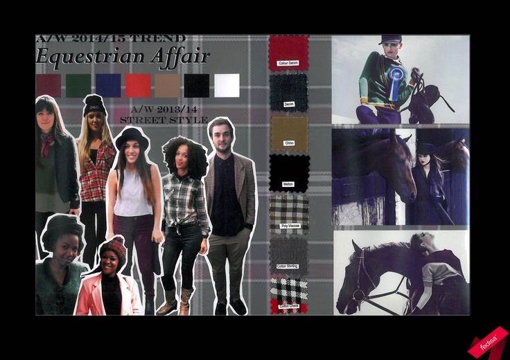 """An Equestrian Affair""  Autumn/ Winter 2014-15 #trend #streetstyle #equestrian"