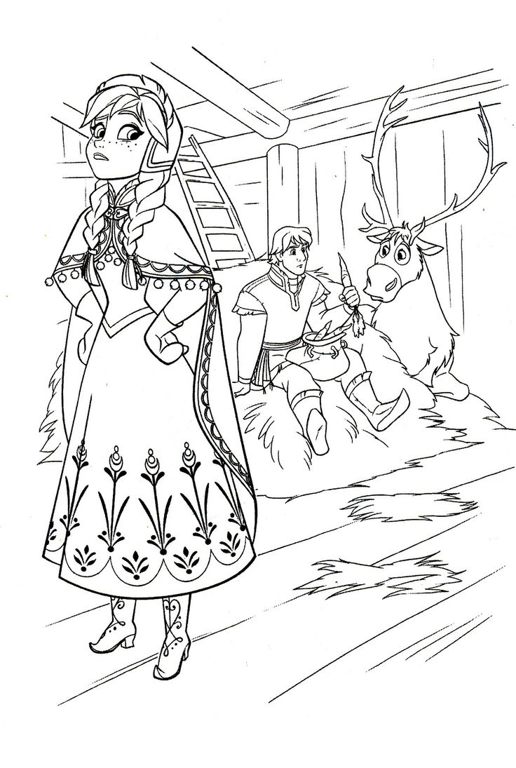 Disney Coloring Pages: Photo