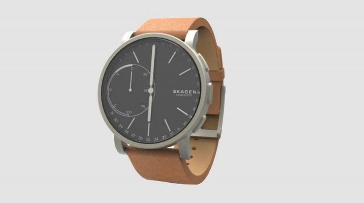 Voici la première montre connectée Skagen